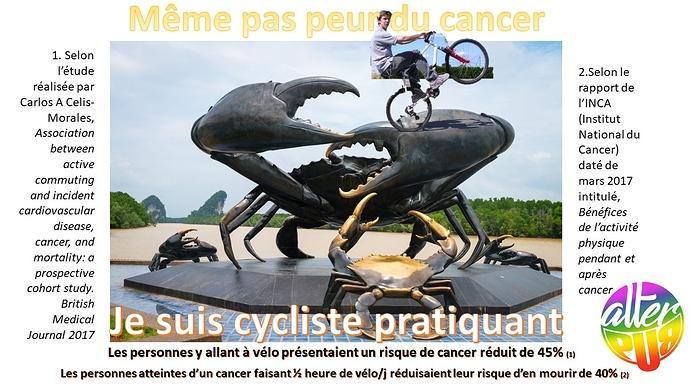 AlterPub Moins de cancer à vélo
