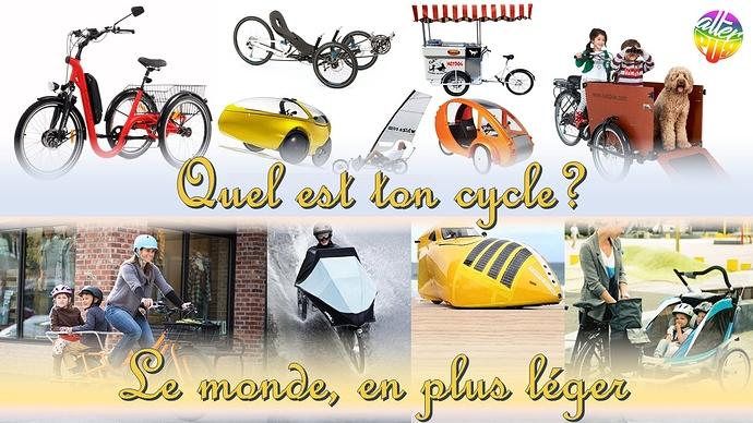 Le monde d'après plus léger à vélo